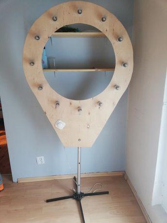 Lampa pierścieniowa ring fotograficzna
