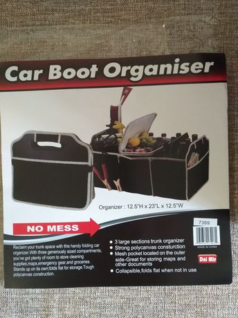 Сумка-органайзер в автомобиль,багажник.