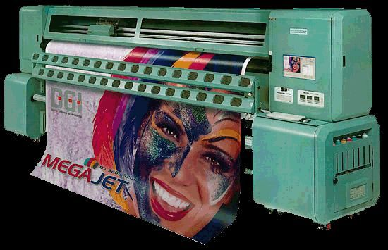 Запчасти на широкоформатный принтер DGI MEGAJET 3204