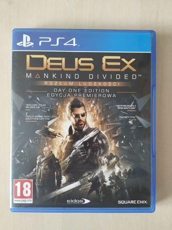 Gra PS4 Deus ex rozłam ludzkości