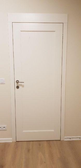 Drzwi wewnętrzne 80x210 , z ościeżnicą, ukryty zawias