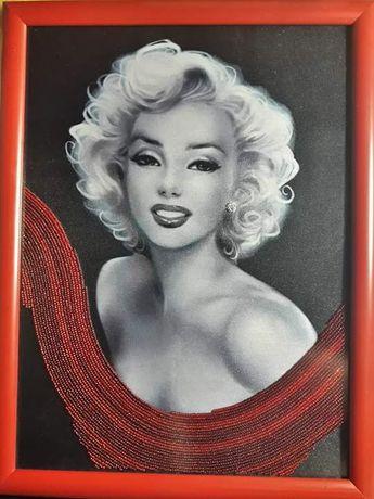 Мэрилин Монро. Картина бисером.