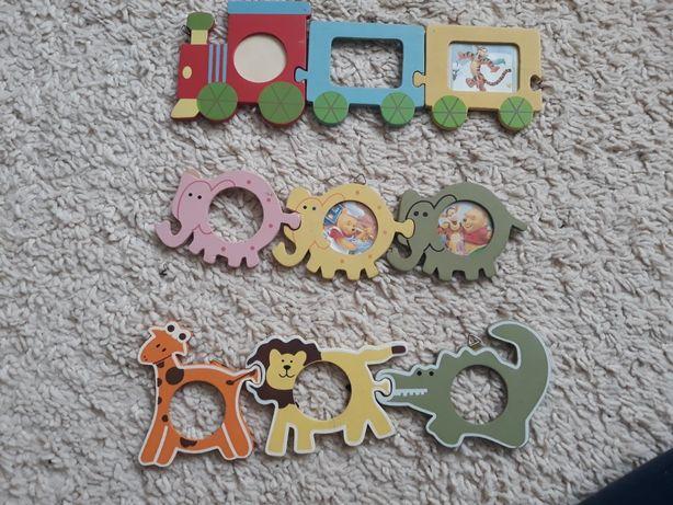 Ramki na zdjęcia do pokoju dziecięcego