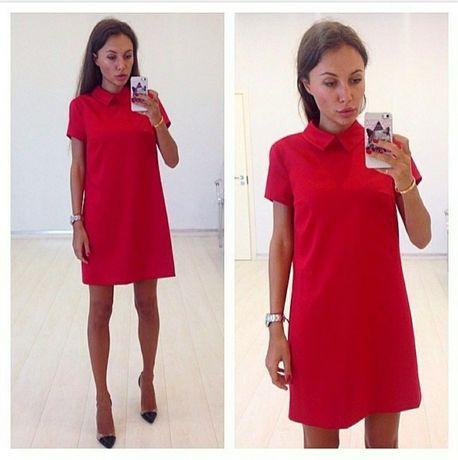 Красивое красное платье! Новое! 400 грн.