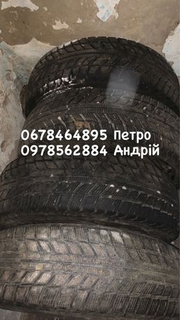Продам зимові колеса 195/65 r15