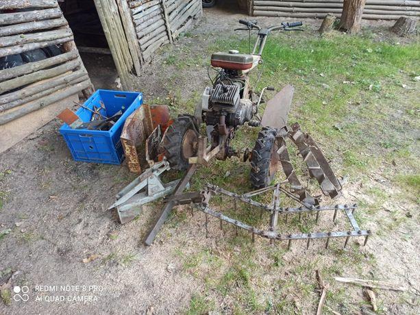 Traktorek ogrodowy Fortschritt e930 Simson