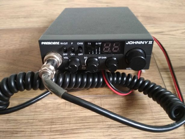 CB radio Prezydent Johnny 2 plus antena.