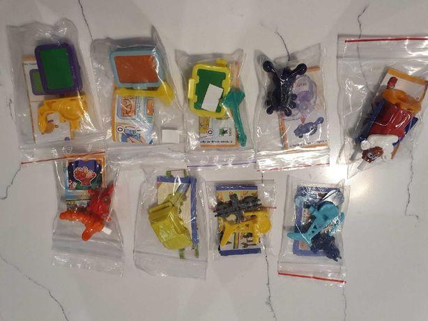 игрушки из киндер сюрприз с вкладышами