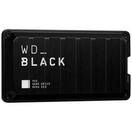 Внешний SSD WD BLACK P50 Game Drive 2TB USB 3.2 Gen 2x2 (Black)