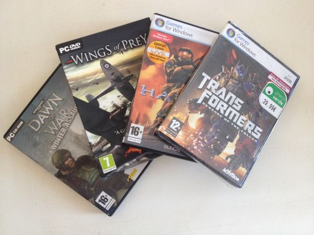 Jogos para PC Windows DVD-Roms conjunto
