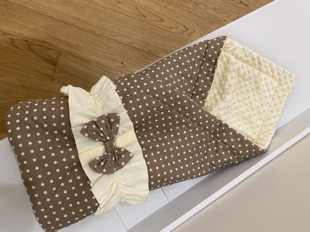 Конверт-одеялко на выписку для малыша