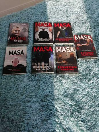 6 książek MASA oraz MAJAMI ZLY PIES
