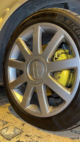 Jantes Audi 5x112 r17 S-line com pneus