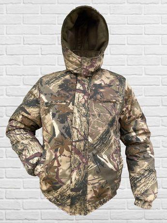 Куртка Зимняя МЕГАТЕПЛАЯ для туризма, рыбалки и охоты