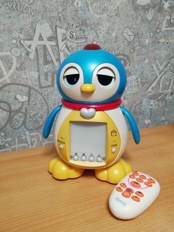Интерактивная игрушка, пингвин  Тиша, робот, пингвинчик