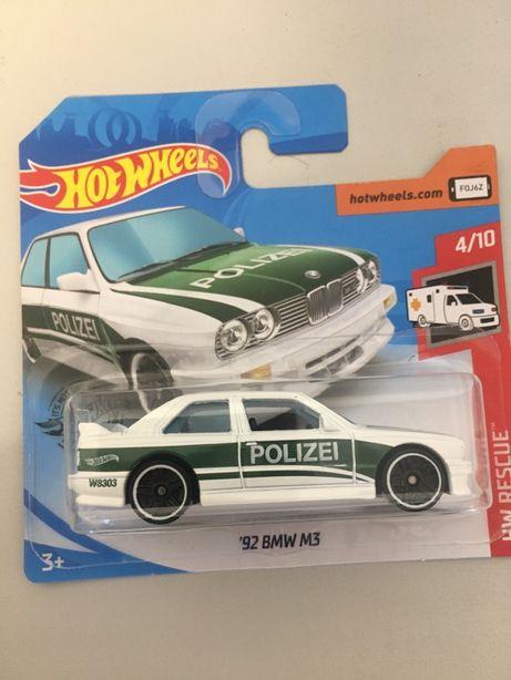 Hot wheels bmw m3 polizei