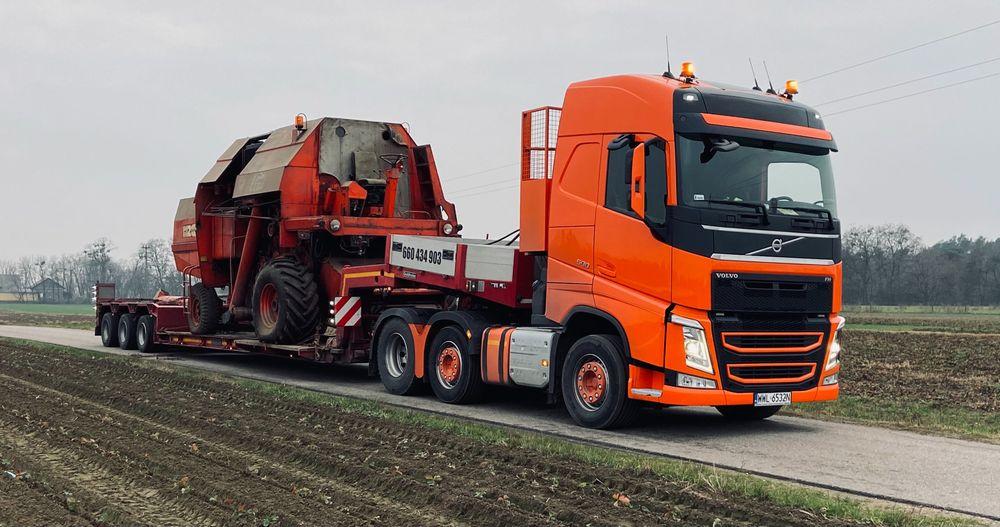 Transport niskopodwoziowy, transport sprzętu rolniczego, gabarytów Nowy Dwór Mazowiecki - image 1