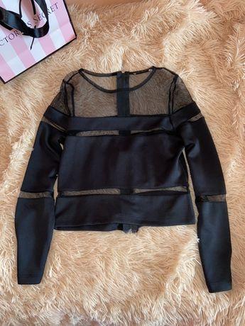 Новая блуза, кофта в сеточку