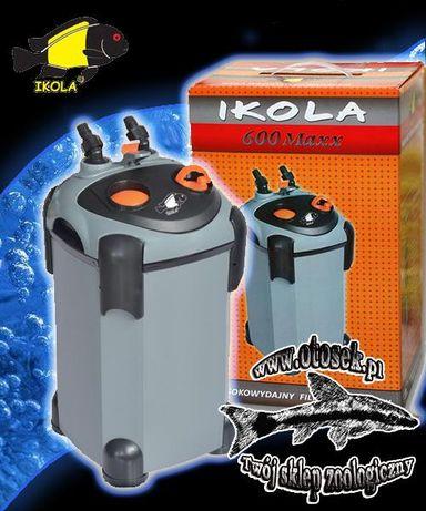 IKOLA filtr zewnętrzny 600 Maxx, akwarium do 600l DOSTĘPNE !!!