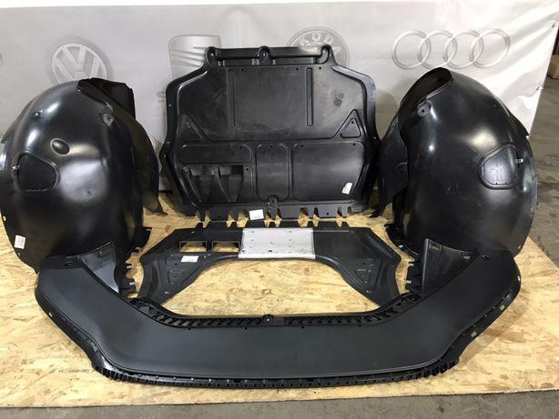 Passat b7 b8 cc сс пасат vw б7 б8 защита захист мотора подкрылок губа