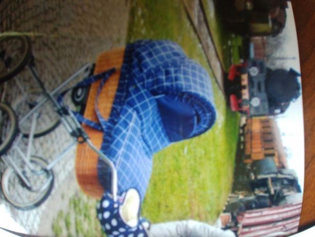 wózek dziecięcy -gondola wiklinowa!
