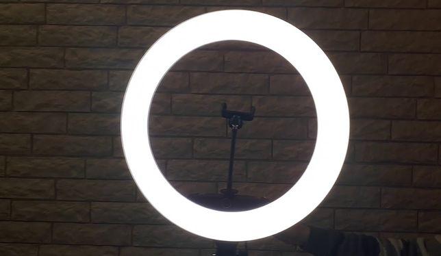 Кольцевая LED ЛАМПА + штатив 2 МЕТРА. Мощная для КАЧЕСТВЕННЫХ фото!