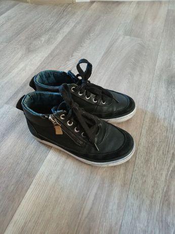 Ботиночки, кеды, хайтопы кожаные Pepe jeans