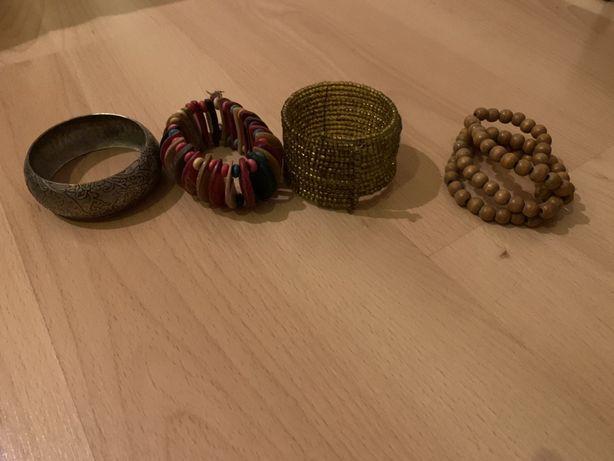 Conjunto de 4 pulseiras