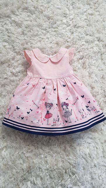 Sukieneczka dla dziewczynki rozmiar 62