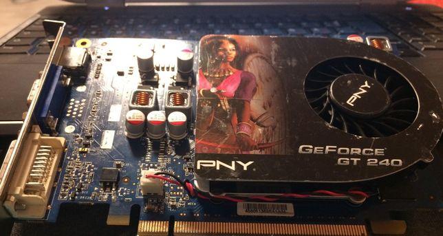 GeForce GT240 PNY 1 Gb не робоча