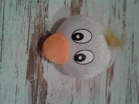 Głowa ptaka - maskotka