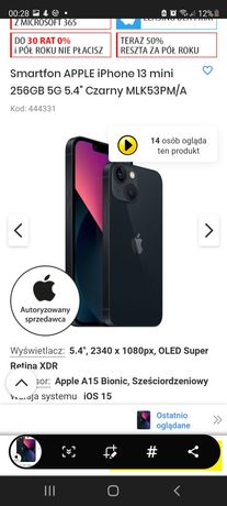 Iphone 13 mini 256 gb