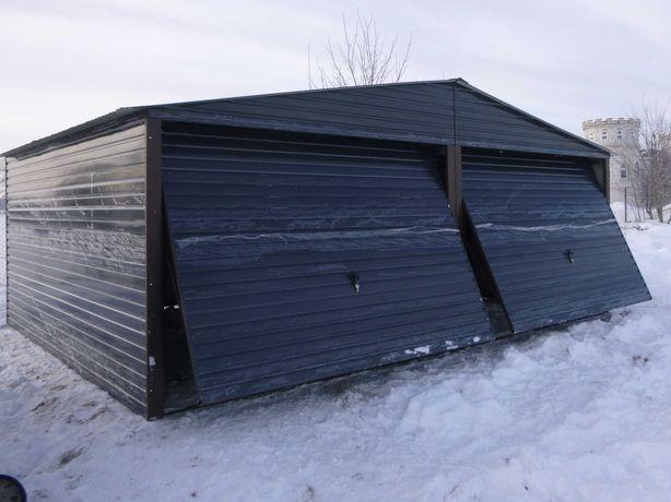 Blaszak Garaż blaszany Wzmocniony Garaże blaszane 6x5 6x6 6x7 7x5