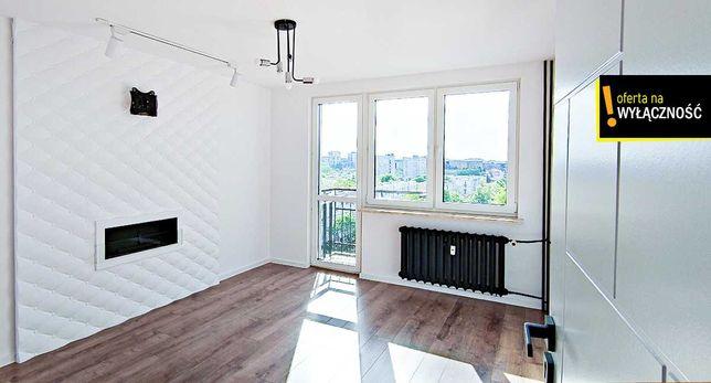 Zagórska 37.2 m2 z balkonem i 2 oddzielne pokoje