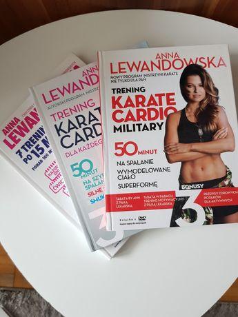 Płyty z ćwiczeniami Anna Lewandowska karate cardio