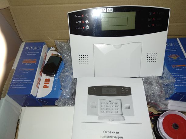 Комплект GSM сигнализации. для дома , дачи, магазина