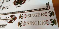 Autocolantes Singer