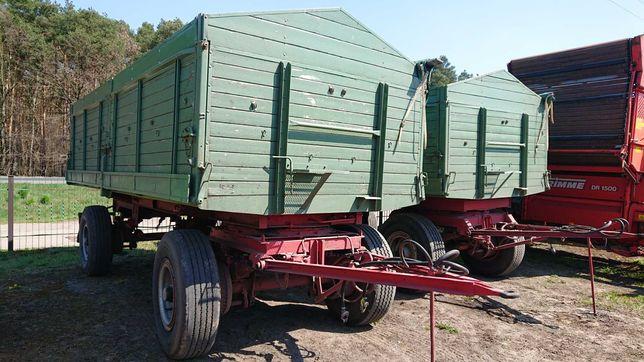 Przyczepa rolnicza  16 ton wywrot