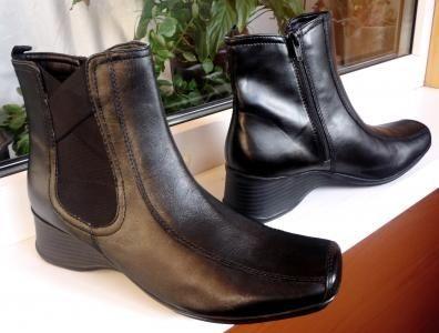 Ботинки сапоги Clarks ecco