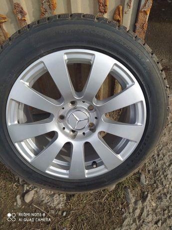 Диски с зимней резиной Mercedes C-класс 205/55 R16