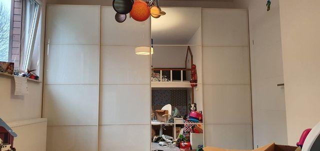 Szafa PAX Ikea 3m, (szer. 4x75cm, wys. 236cm), drzwi przesuwne
