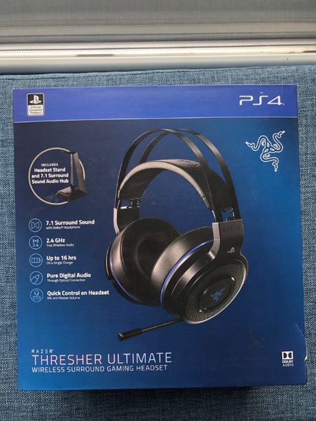 Нові навушники Razer Thresher Ultimate wireless PS4/PC