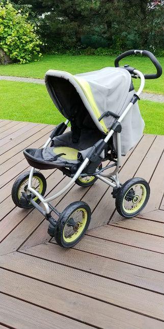 Sprzedam wózek dziecięcy Huck 2w1 spacerówka/gondola + adapterki