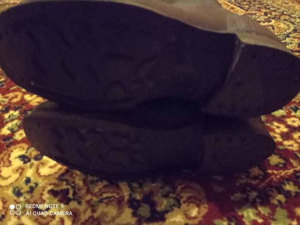Сапоги кирзовые 45 размер 292см
