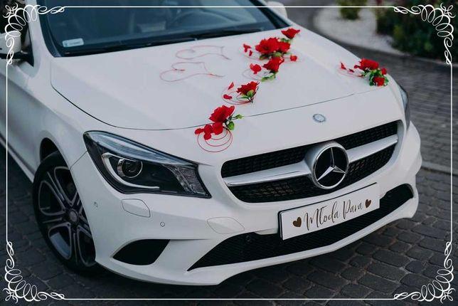 Auto do ślubu. Samochód na ślub. Mercedes CLA, wolne terminy 2021