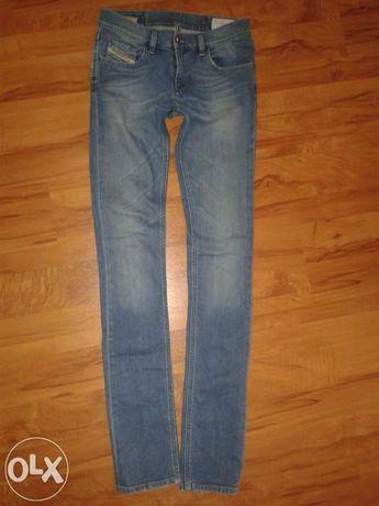 Spodnie jeansy DIESEL Livy W25 L34 rurki, skinny