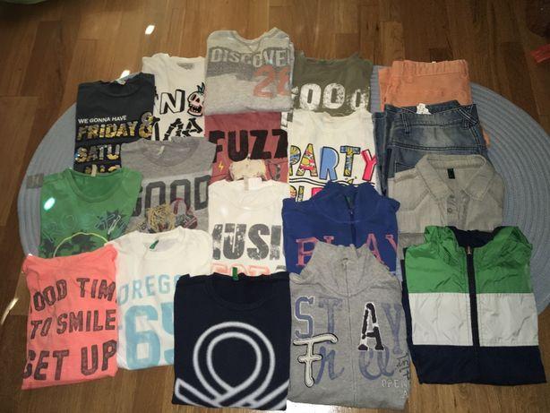 Vendo lote roupa Benetton menino 10/11 - 75€