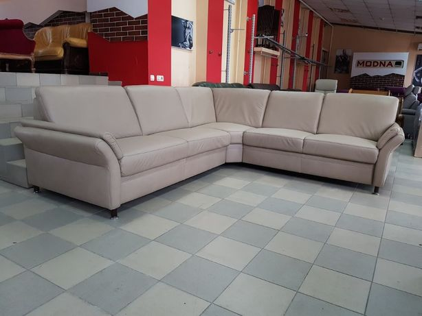 Кожаный угловой диван мягкая мебель шкіряний диван Германия