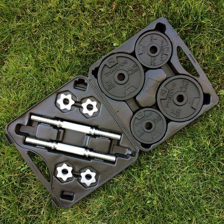 Zestaw hantli żeliwnych 20 kg (2x10 kg)