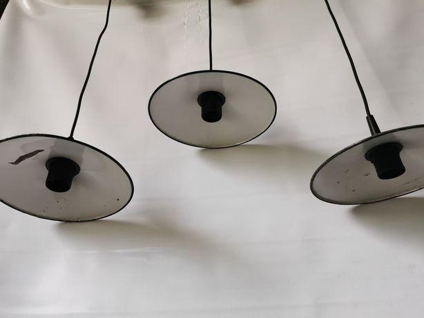 Stara lampa loft PRL vintage bauhaus